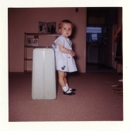 me at 3 with suitcase044